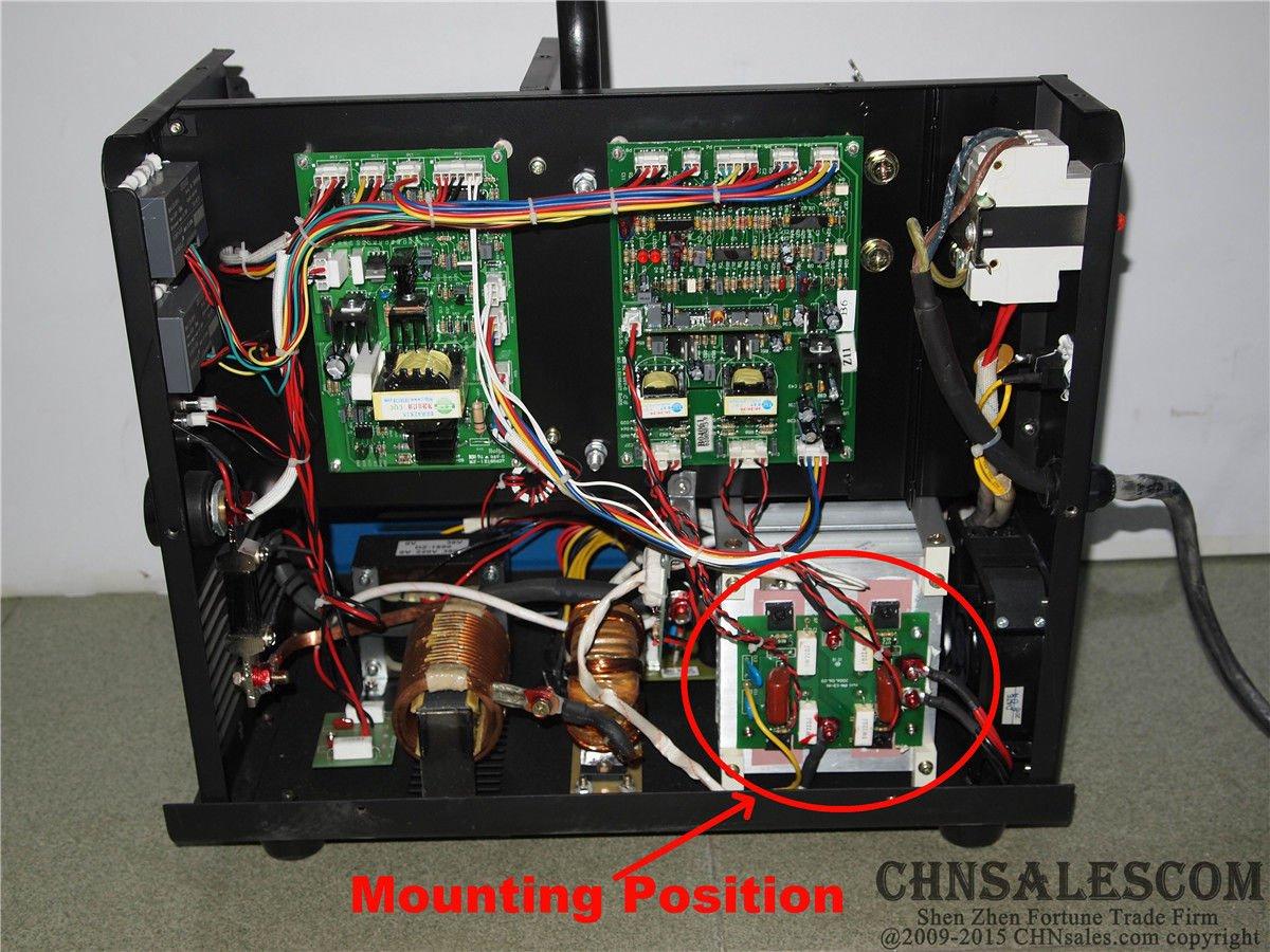 CHNsalescom JASIC B16012 IGBT Inverter Board MIG-200 J03 MIG-200 N214 200A MIG/MAG Welder: Amazon.es: Bricolaje y herramientas