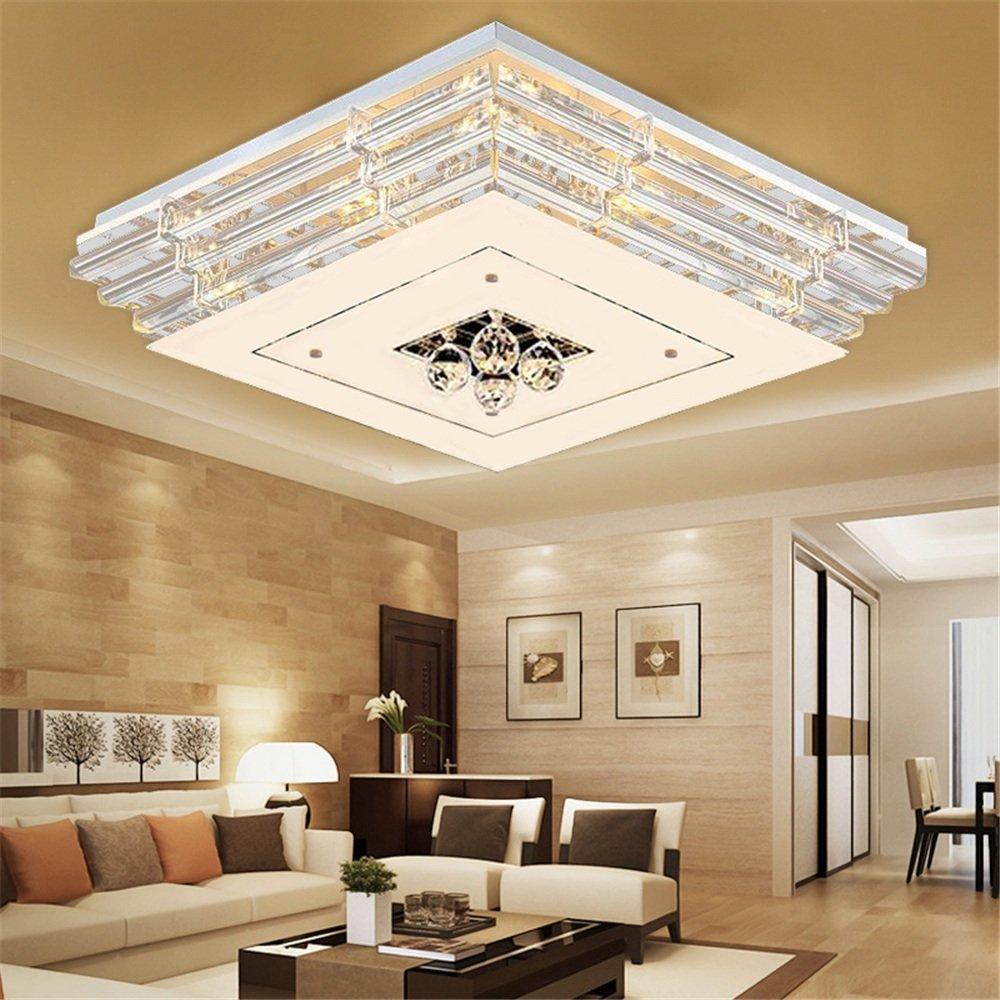 MCTECH® 48W Kristall Deckenleuchte Deckenbeleuchtung Deckenbeleuchtung Deckenbeleuchtung Deckenlampe Pendelleuchte LED Lampe Hängelampe (48W, Dimmbar) e2e477
