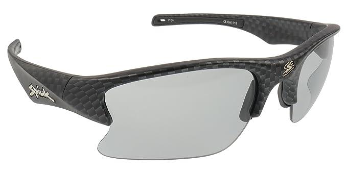 cc7b60ae20 Spiuk Lumiris II Gafas de sol, de carbono marco de color, lentes  fotosensibles con Red adicional Espejo Lente: Amazon.es: Ropa y accesorios