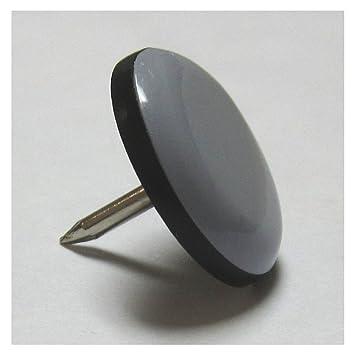 Magic Sliders 08221 22mm (7/8 Inch) Furniture Glide Round Nail On