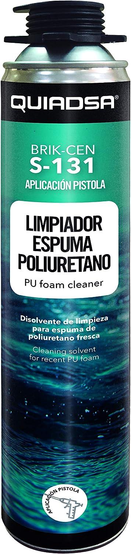 Quiadsa 53306001 Disolvente Limpiador para Espuma de Poliuretano ...