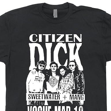 Amazon.com: Citizen Dick T Shirts Poster Design Punk Nirvana Rock ...