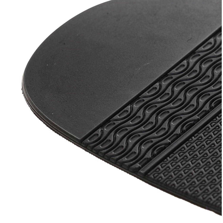 TOOGOO 1Paire de Demi-Semelle Caoutchouc Avant-pied de Chaussure Reparation de Chaussures Artisanat,2mm