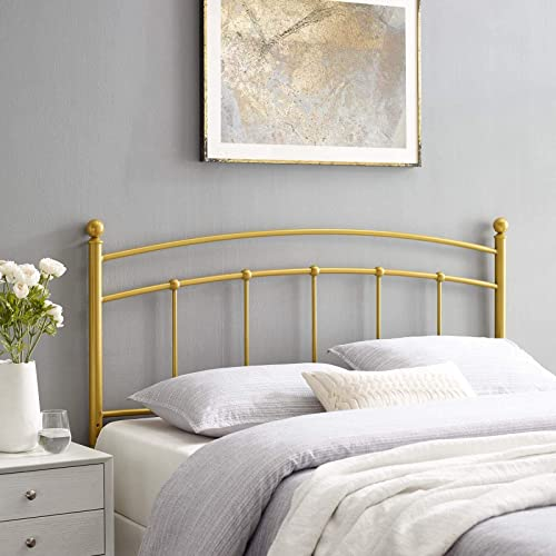 Modway Abigail Modern Farmhouse Metal Queen Headboard