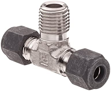 3a0d6bfd563e Parker CPI 8-8-8 SBZ-SS 316 Stainless Steel Compression Tube Fitting ...