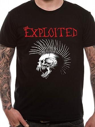 Exploited - Beat The Bastards T-Shirt mit Rückendruck: Amazon.de: Bekleidung