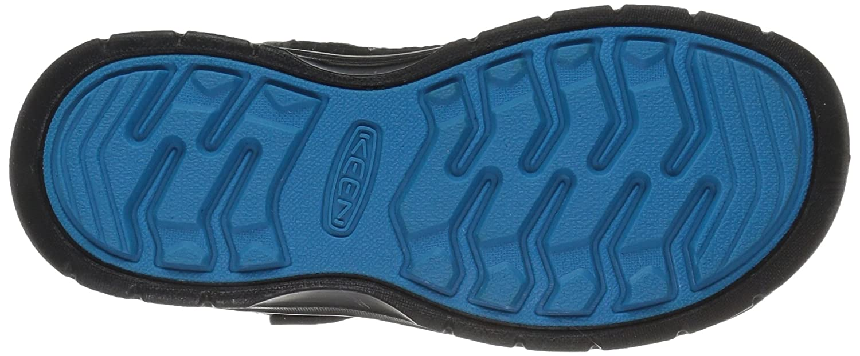 KEEN Black//Blue Zapatos de Low Rise Senderismo Unisex Ni/ños