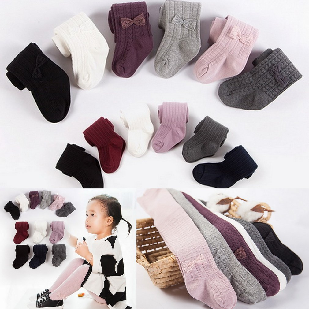Xiang Ru Baby Toddler Cotton Cable Knit Pantyhose Tights