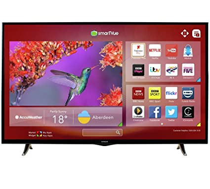 17361f725a9 Hitachi 50HYT62U 50 Inch Full HD Freeview HD Smart LED  Amazon.co.uk   Electronics