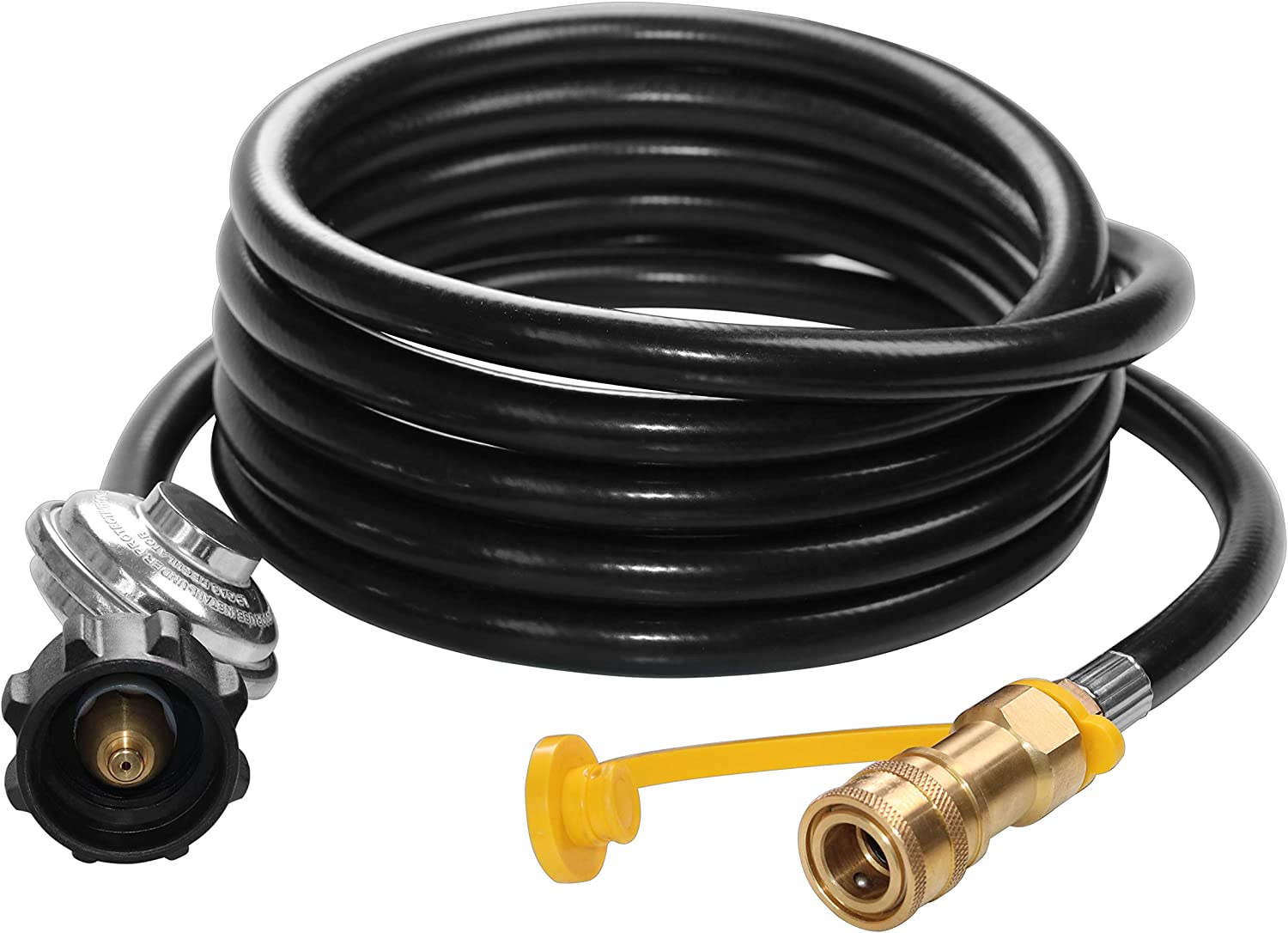 """Heater Big Buddy 12 ft Propane Regulator Hose with 3//8/"""" Quick Disconnect for Mr"""