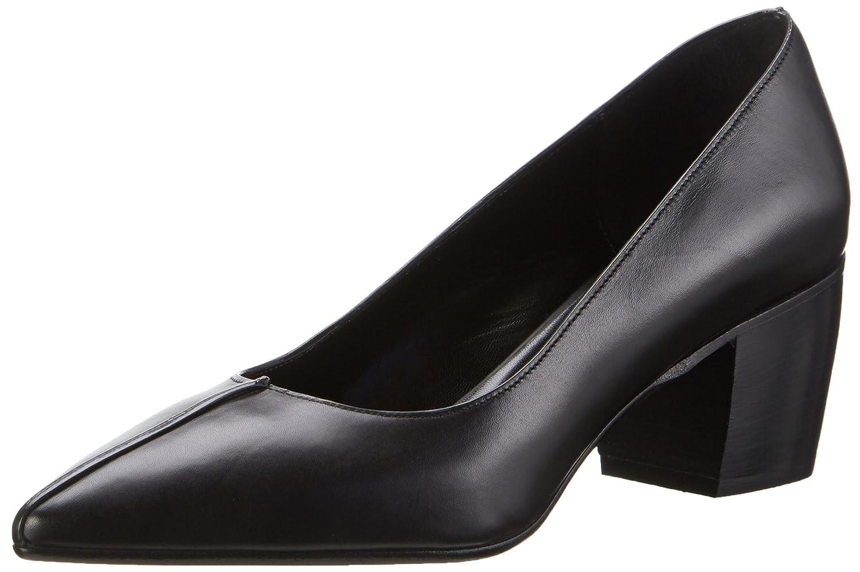Oxitaly Sacha 306, Zapatos de Tacón con Punta Cerrada para Mujer 38 EU|Negro (Nero Nero)
