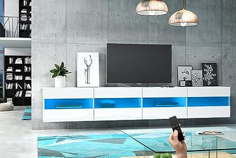 Brico double mobiletto porta tv sospeso supporto tv sospeso a