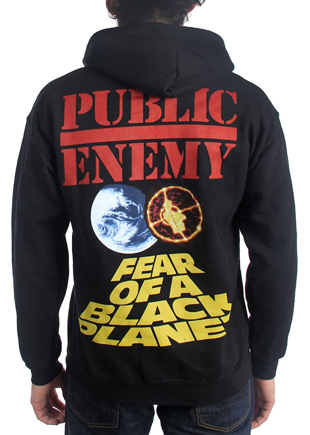 reasonably priced new specials nice shoes Public Enemy - Mens Fear of a Black Planet Hoodie, X-Large ...