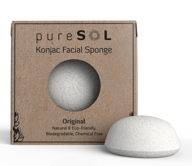 """Konjac Sponge - Original - Facial Sponge"