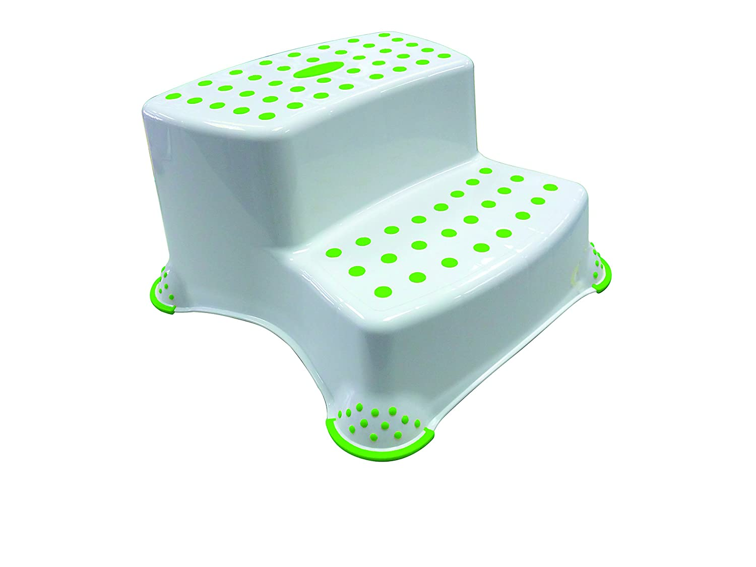Bébé Confort - Sweet Sorbet Anti-Slip Double Step Stool - White/Green 32000255