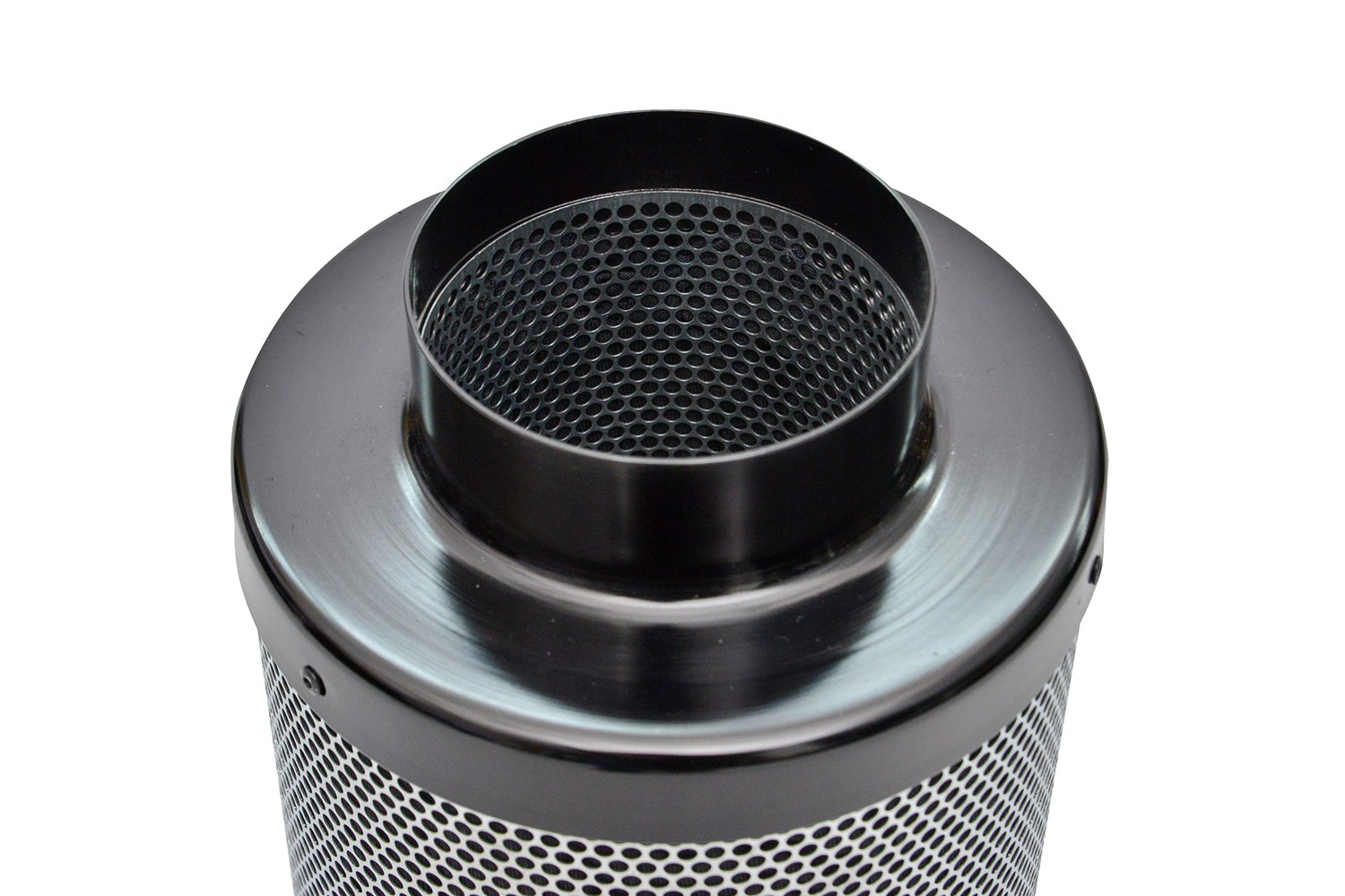 BuyHive 4 inch Inline Duct Fan with 4 Air Carbon Filter For Greenhouse Ventilation Hydroponic Grow Tent Kit