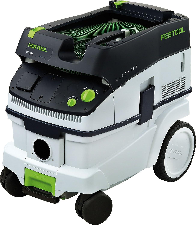 Festool CTL 26 E GB 110V - Aspiradora en seco y húmedo (1200 vatios): Amazon.es: Bricolaje y herramientas
