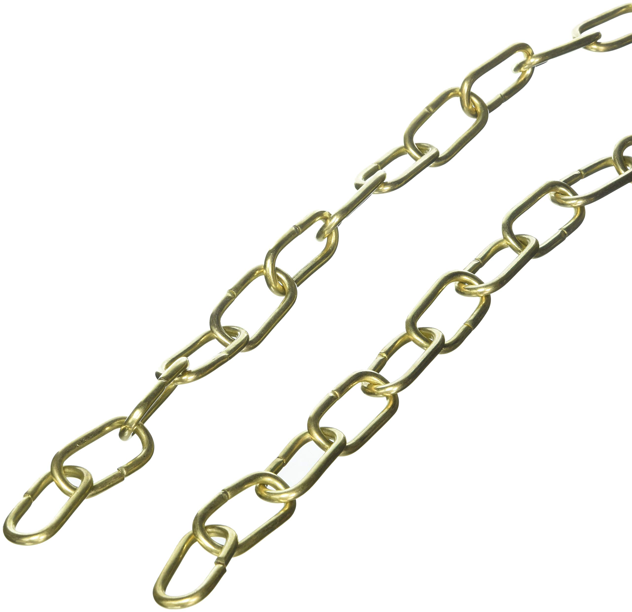 RCH Hardware CH-08-PB-3 Fixture Chain, Polished Brass