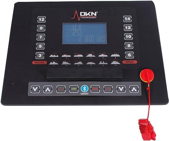 DKN Eco Run - Cinta de Correr para Fitness, Color Negro: Amazon.es ...