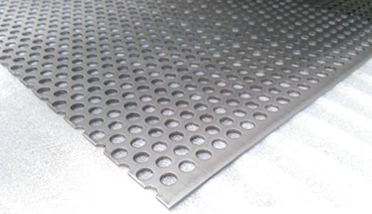 Placa Perforada Rv10/T15 Acero Inoxidable V2 A corte de 2 mm ...