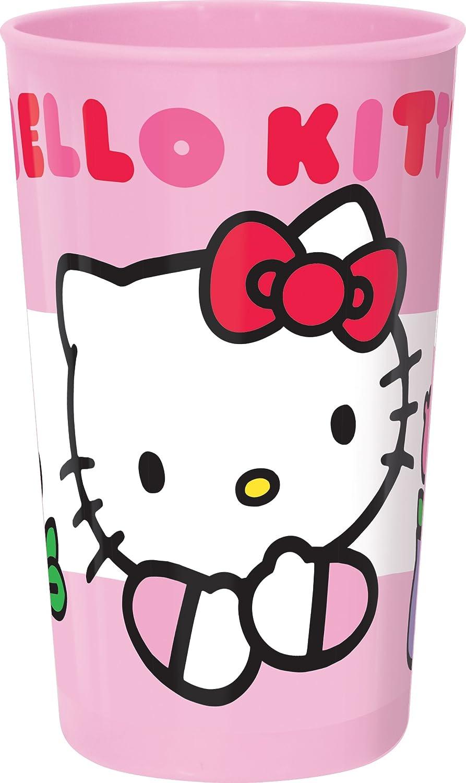 Trudeau 8011348 Hello Kitty tulipa vaso melamina/plástico rosa 27 cl: Amazon.es: Hogar