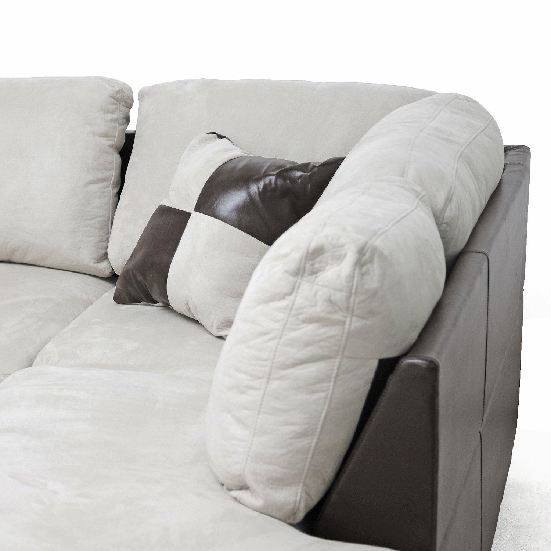 Amazon Baxton Studio Mancini Modern Sectional Sofa and