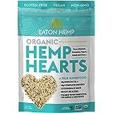 USDA Organic Eaton Hemp Hearts Shelled Hemp Seeds, 16oz, 10g Complete Plant Protein & 12g Omegas per Serving, Vegan, Gluten-F