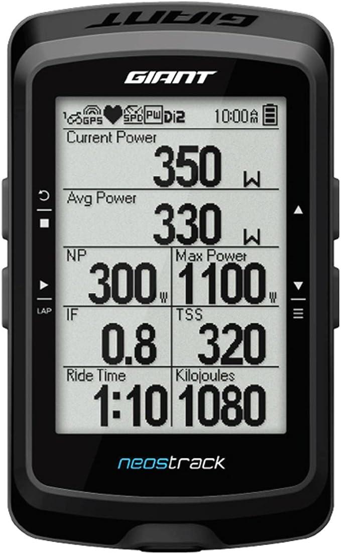 Giant Neostrack GPS de vélo ANT + Bluetooth Noir: Amazon.es: Electrónica