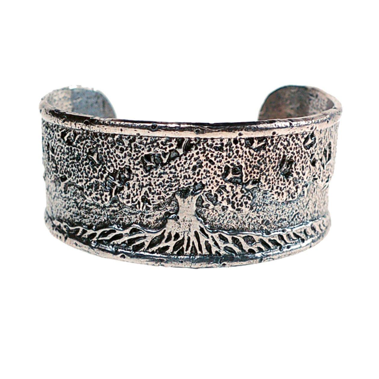Tree of Life Cuff Bracelet (sterling-silver)