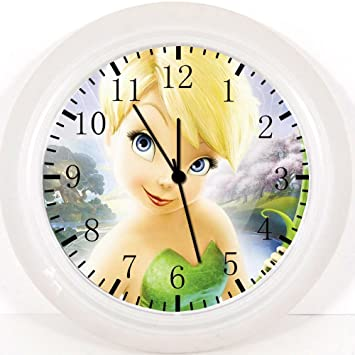 Disfraz de hada reloj de pared de 25,4 cm se color y para pared X56: Amazon.es: Hogar