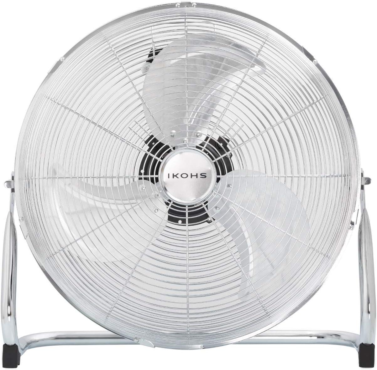 IKOHS EOLUS Turbo Pro - Ventilador de Suelo Industrial, 120 W ...