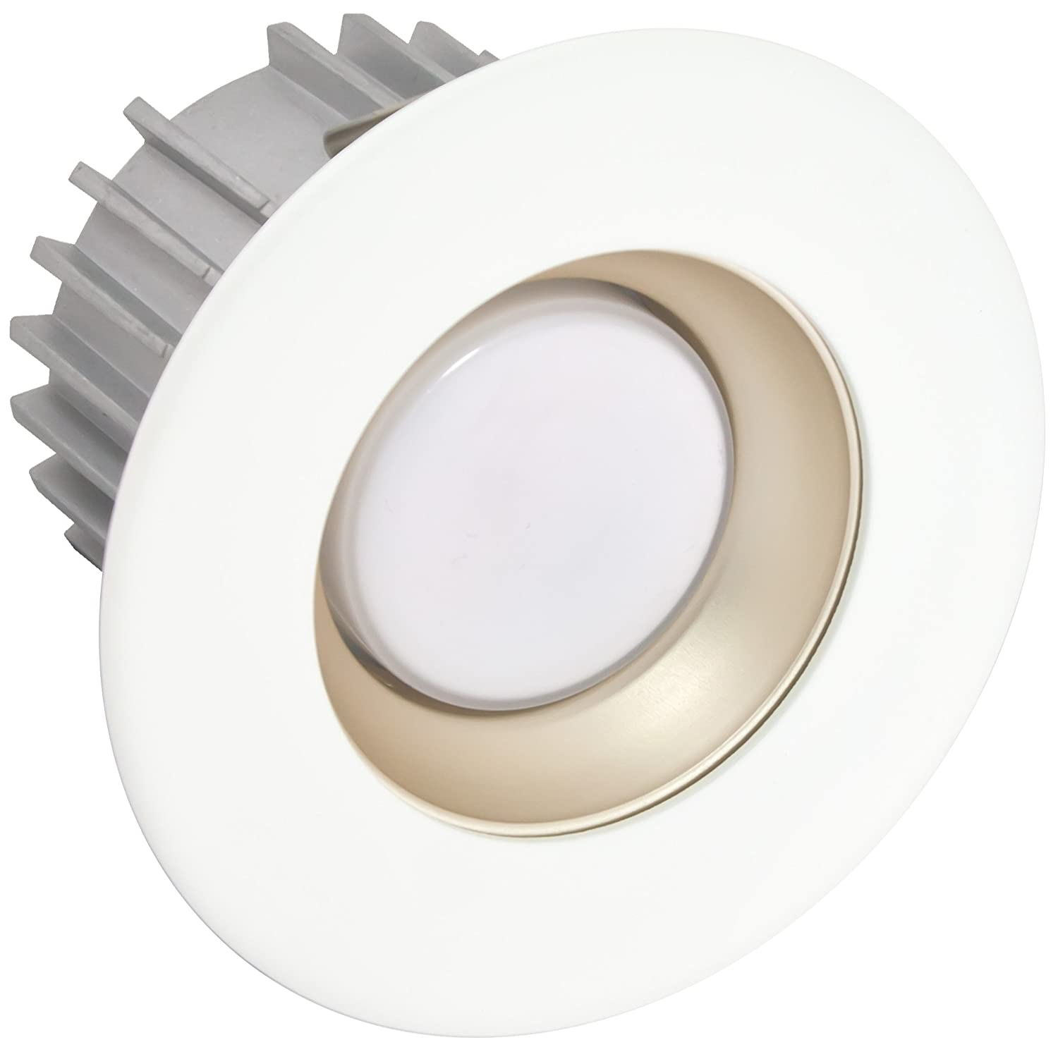 White American Lighting X3-SPM-WH-X34 3-Inch Downlight X34 Series Trim Kit with Satin Pearl Multiplier