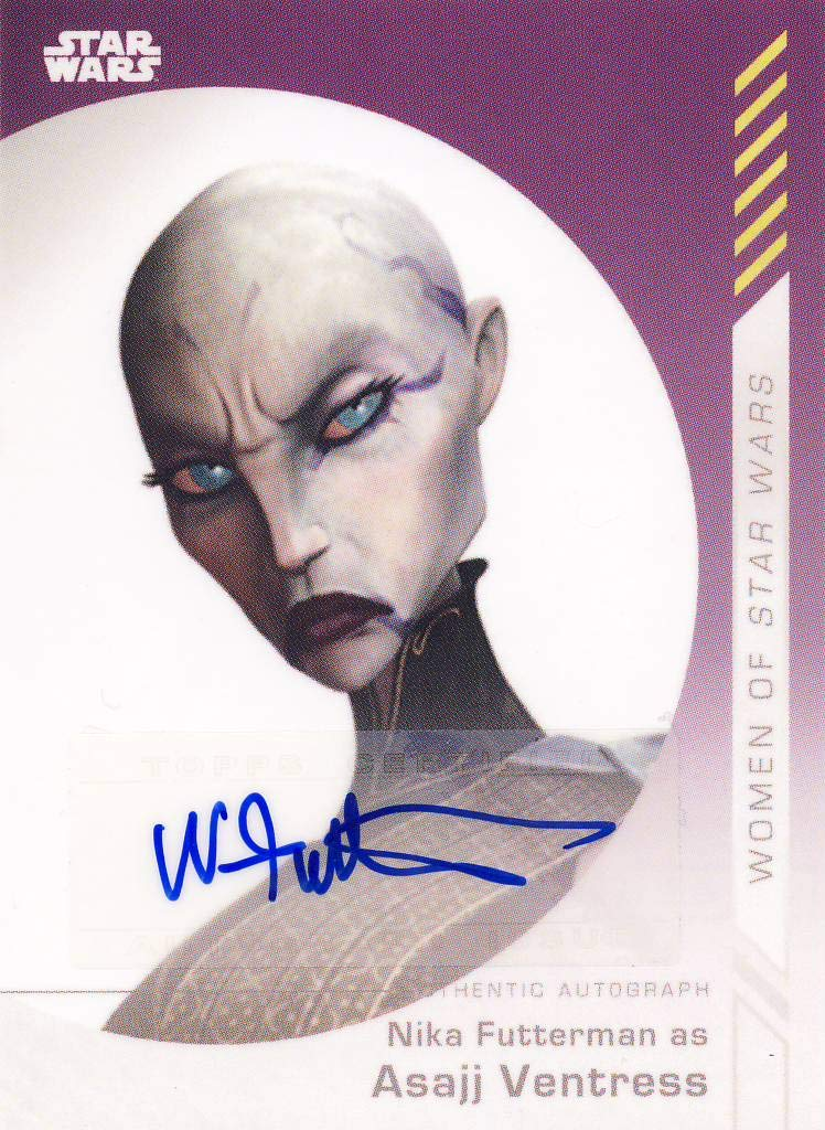 2019 Women of Star Wars Trading Cards Autograph Nika