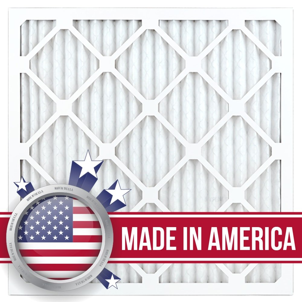 AIRx Filters Dust 20x20x1 Air Filter MERV 8 AC Furnace Pleated Air Filter Replacement Box of 12, Made in the USA