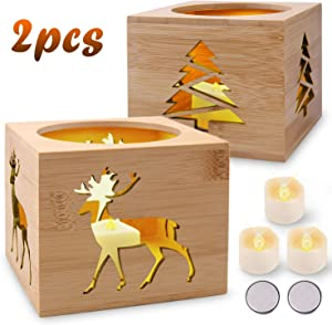 Giveaway: Yodeace 2pcs Christmas Table Decoration