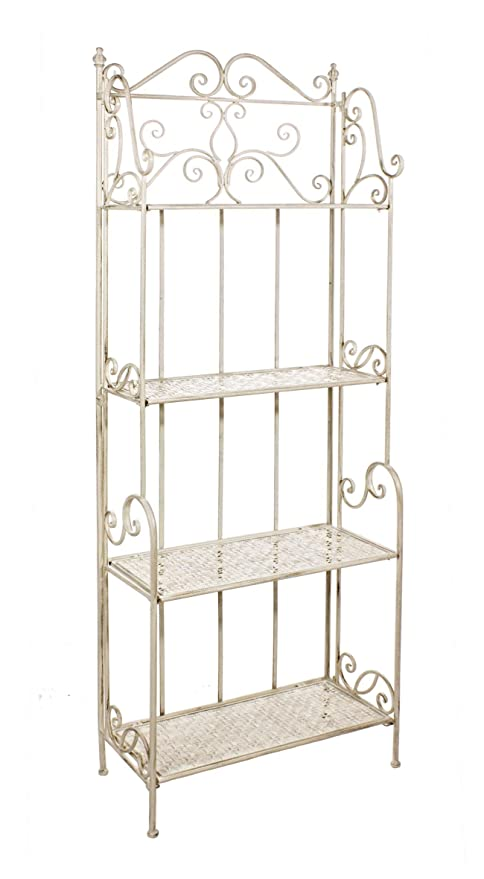 Etagere In Ferro Shabby Chic Amazon It Casa E Cucina