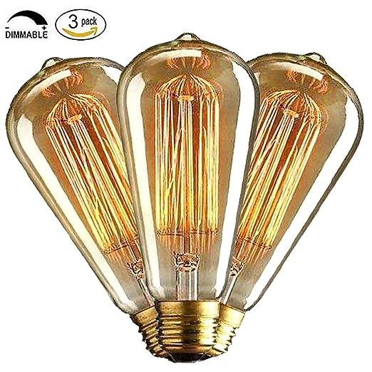 56 opinioni per CMYK 40w Vintage lampadina- con gabbia filamento (vecchio Edison) Vite