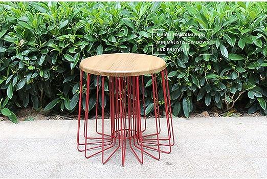 Amazon Com Hlzzk Side Table Mid Century Modern Nesting Tables For