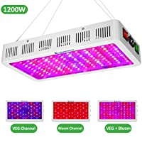 Exlenvce 1200W Full Spectrum LED Grow Light