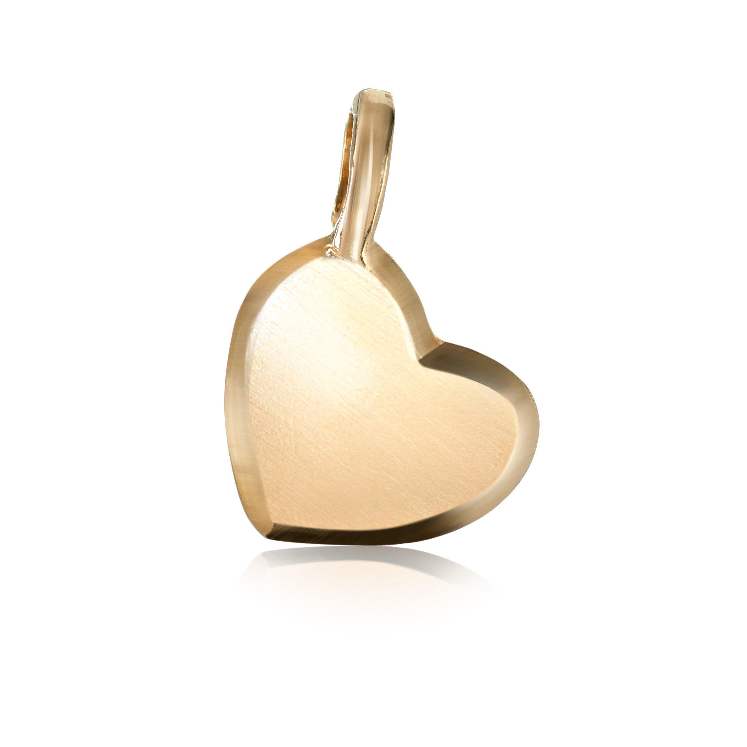 Alex Woo ''Mini Additions'' 14k Yellow Gold Heart Charm