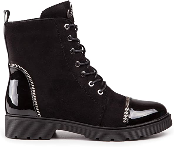 Baldi Womens Waba F Black High Shaft high Heel mid Casual Classy Comfy Boots wear with Jeans Dress Skirt Outdoor Event Office