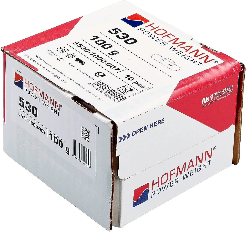 10x Balance Weight Truck Steel Wheels Type 530 100 G Hofmann Power Weight Impact Weights Steel Wheels Auto