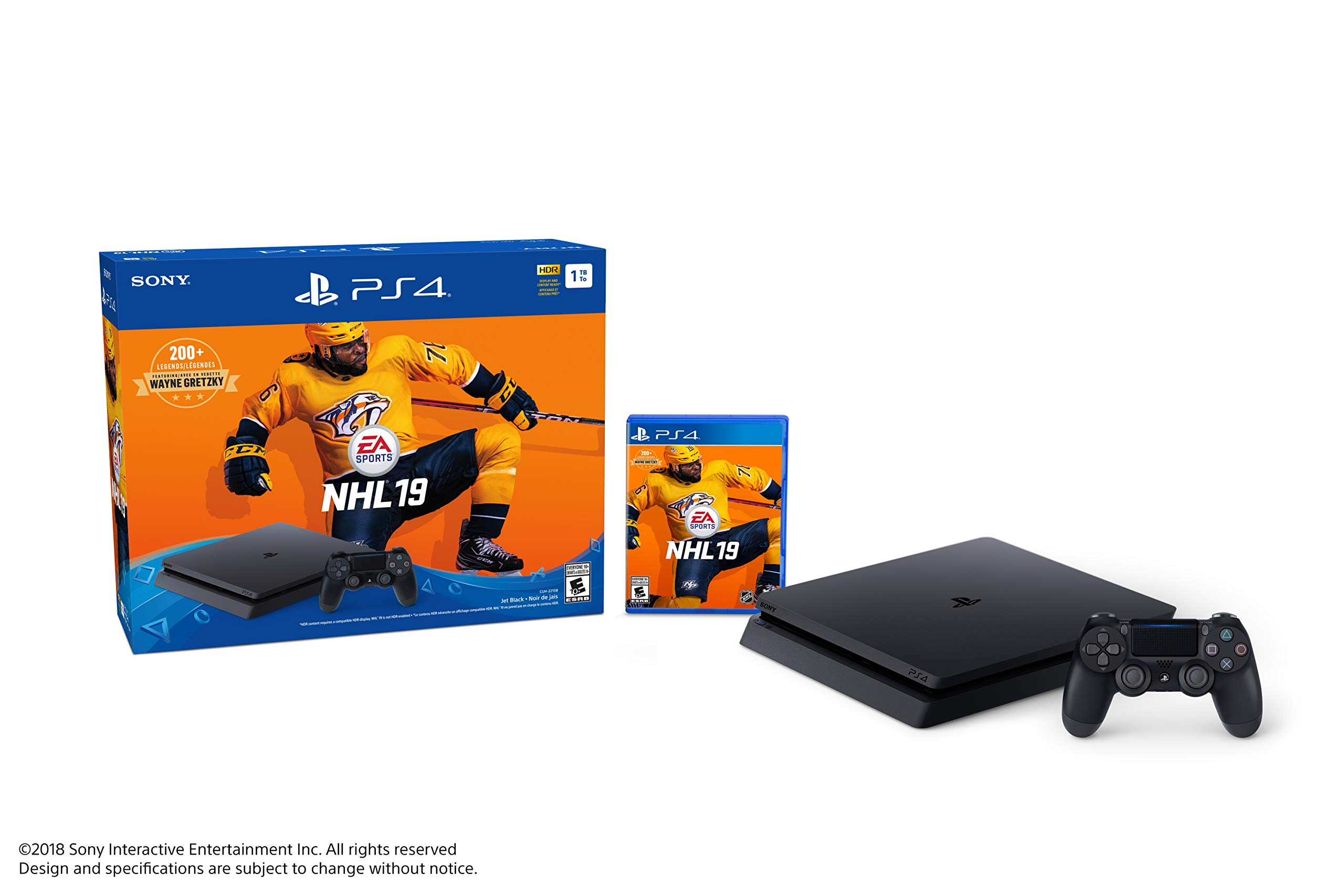 Image Unavailable. Image not available for. Color  Sony PlayStation 4 1TB  Slim - NHL 19 Bundle Edition ea799deef