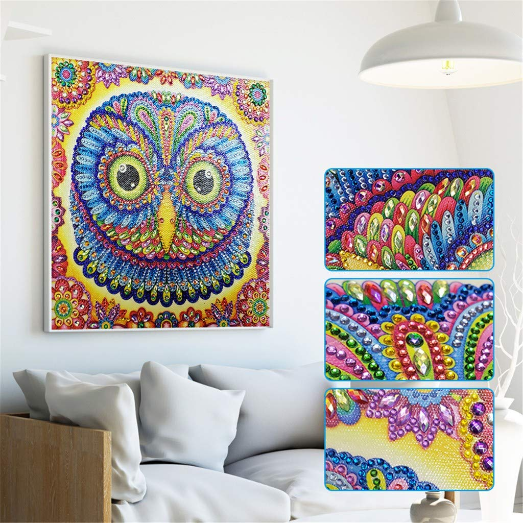Clothful  Special Shaped Diamond Painting DIY 5D Partial Drill Cross Stitch Kits Crystal
