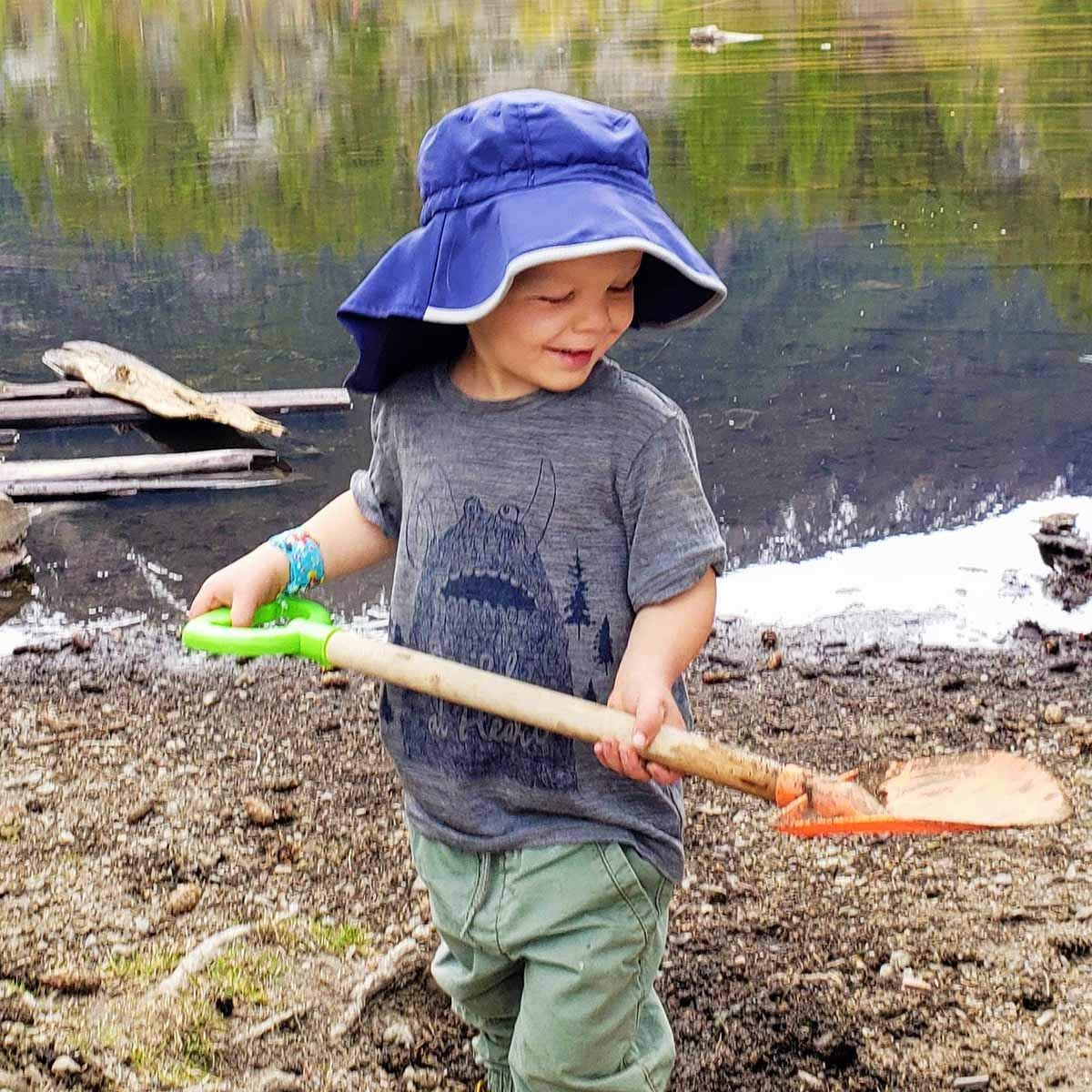 50+ UPF for Baby and Toddler Girl or Boy Jan /& Jul Kids Cotton Adventure Sun-Hat Adjustable Straps