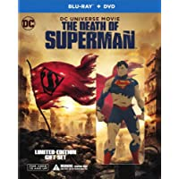 La Muerte de Superman (Blu-ray + DVD) (+ Figurine)