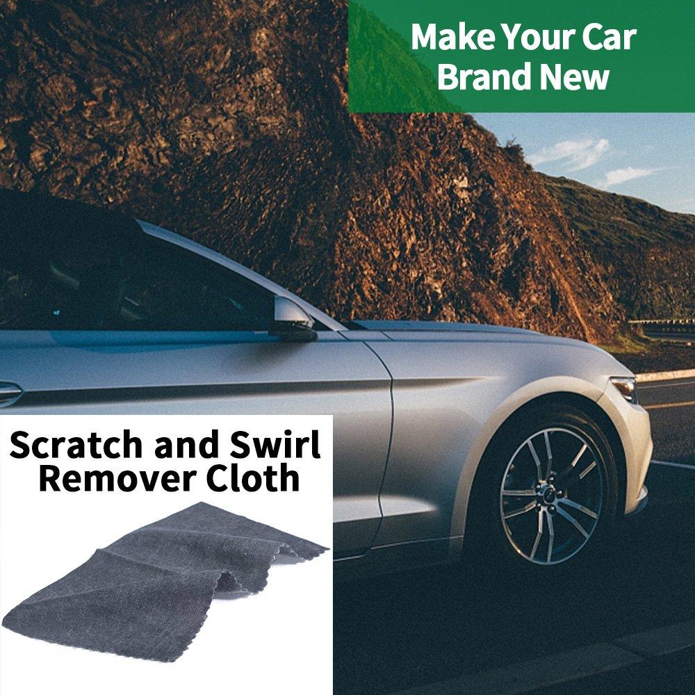 AVA Prime (2 Pack) Car Scratches Remover/Repair Cloth Magic Nano-Technology Scuffs Polishing Kit