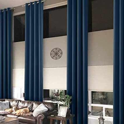 Amazon Prim Extra Long Grommets Curtain Thermal Insulated