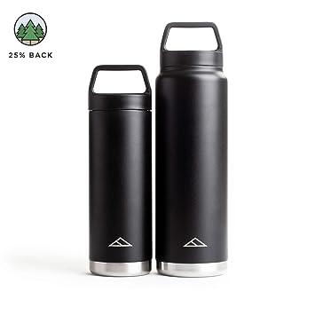 Amazon.com: Tillak Metolius - Botella de acero inoxidable de ...