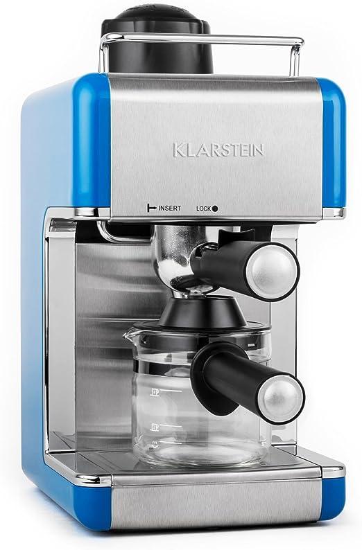 OneConcept – Máquina de café expreso de acero para 4 tazas ...